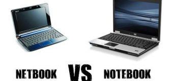 Differenze tra notebook e netbook