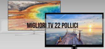 Migliori televisori 22 pollici: guida all'acquisto